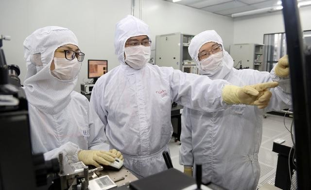 What is the current level of China's advanced chip research and development?