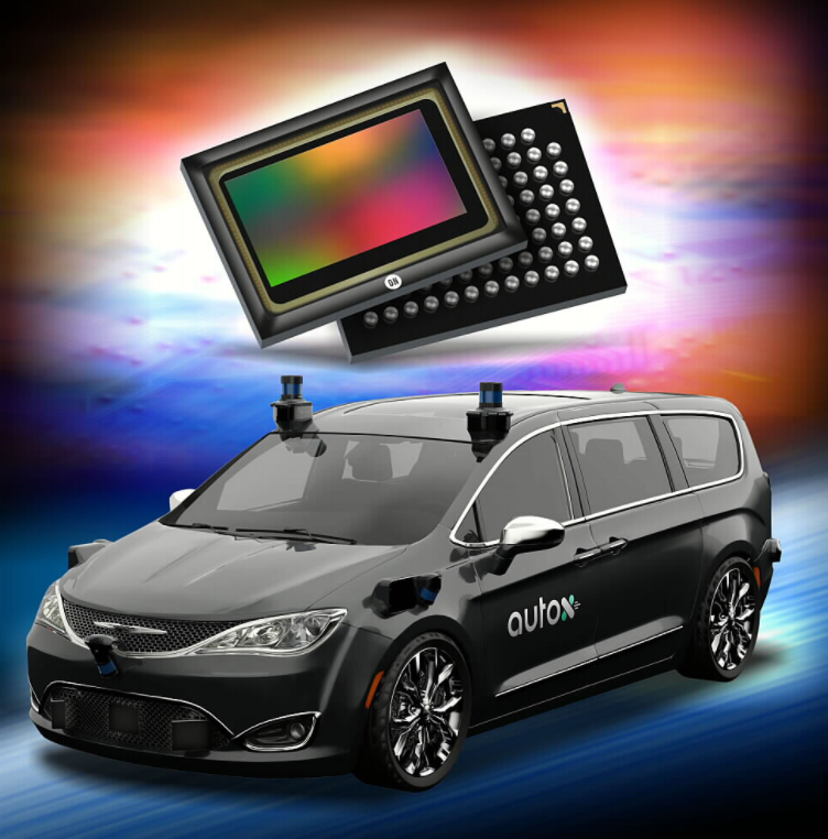 ON Semiconductor's intelligent perception technology empowers the 360-degree vision of AutoX's fifth-generation driverless system